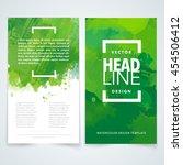 vector design elements template ... | Shutterstock .eps vector #454506412