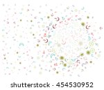 astronomical symbols. abstract... | Shutterstock .eps vector #454530952
