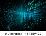 abstract techno background | Shutterstock . vector #454589422