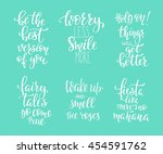 Positive Quote Lettering Set....