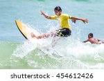 phuket   july 17  unidentified... | Shutterstock . vector #454612426