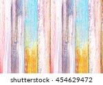 Colorful Wooden Painted...