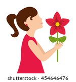 Girl Daughter Gift Icon Vector...