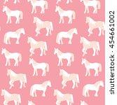 seamless pattern of beautiful... | Shutterstock .eps vector #454661002