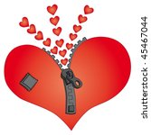 heart. valentine's day | Shutterstock .eps vector #45467044