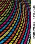 rainbow squared slide | Shutterstock .eps vector #45467938