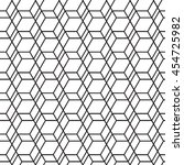 hexagonal geometry seamless ... | Shutterstock . vector #454725982