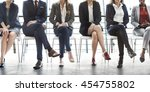 management career achievement... | Shutterstock . vector #454755802