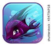 cute square cartoon app icon...