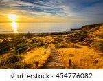 Hallett Cove Boardwalk at sunset, South Australia