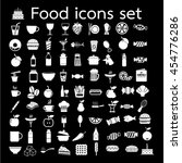 food icon illustration design | Shutterstock .eps vector #454776286