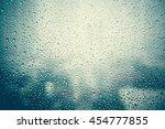 effect from raindrop make vapor ...   Shutterstock . vector #454777855