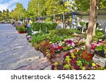 Small photo of AIGALEO GREECE, MAY 28 2016: annual flower exhibition at mountain Aigaleo Greece. Editorial use.