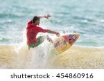 phuket   july 17  unidentified... | Shutterstock . vector #454860916