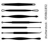 comedones extractor | Shutterstock .eps vector #454861852