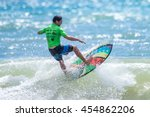 phuket   july 17  unidentified... | Shutterstock . vector #454862206