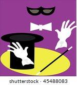 conjurer | Shutterstock .eps vector #45488083