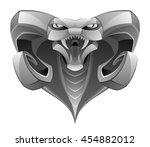 demon head | Shutterstock .eps vector #454882012