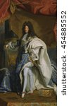 Portrait Of Louis Xiv  By...