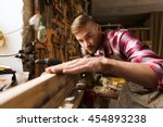 profession  carpentry  woodwork ... | Shutterstock . vector #454893238