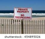 Horizontal Image Of A Sign At...