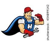 handyman | Shutterstock .eps vector #454899142