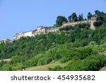 rural landscape of ripatransone ...   Shutterstock . vector #454935682
