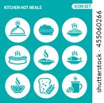 vector set web icons. kitchen...