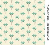 Palm Trees Pattern. Vector...