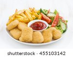 Chicken Nuggets  French Fries...