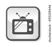 tv video icon | Shutterstock .eps vector #455109646