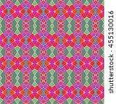 colorful multicolored geometric ... | Shutterstock . vector #455130016