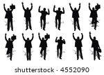 happy business | Shutterstock .eps vector #4552090