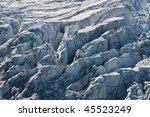 Glacier Du Tour In The Mont...