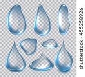 vector illustration set of... | Shutterstock .eps vector #455258926