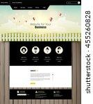 website template vector eps10 ...