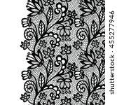 lace border. vector... | Shutterstock .eps vector #455277946