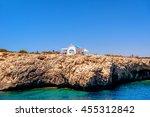 A small chapel dedicated to Agioi Anargyroi near Cape Greco. Famagusta District, Cyprus.
