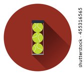 tennis ball container icon....