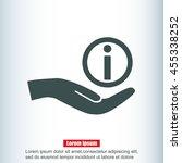 info icon  | Shutterstock .eps vector #455338252