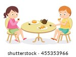vector cartoon illustration.... | Shutterstock .eps vector #455353966
