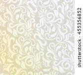 pattern in arabic style.... | Shutterstock . vector #455356852