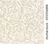 pattern in arabic style.... | Shutterstock . vector #455356888