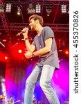 kiel  germany   june 26th 2016  ...   Shutterstock . vector #455370826