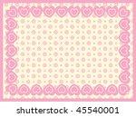 vector background of victorian...   Shutterstock .eps vector #45540001