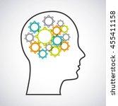 idea concept represented by... | Shutterstock .eps vector #455411158