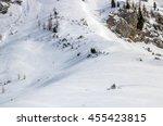 Barren Steep Snowy Winter...
