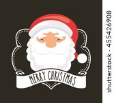 merry christmas concept... | Shutterstock .eps vector #455426908