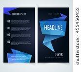 vector design template of... | Shutterstock .eps vector #455450452