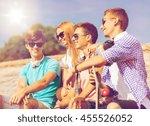 friendship  leisure  summer and ... | Shutterstock . vector #455526052